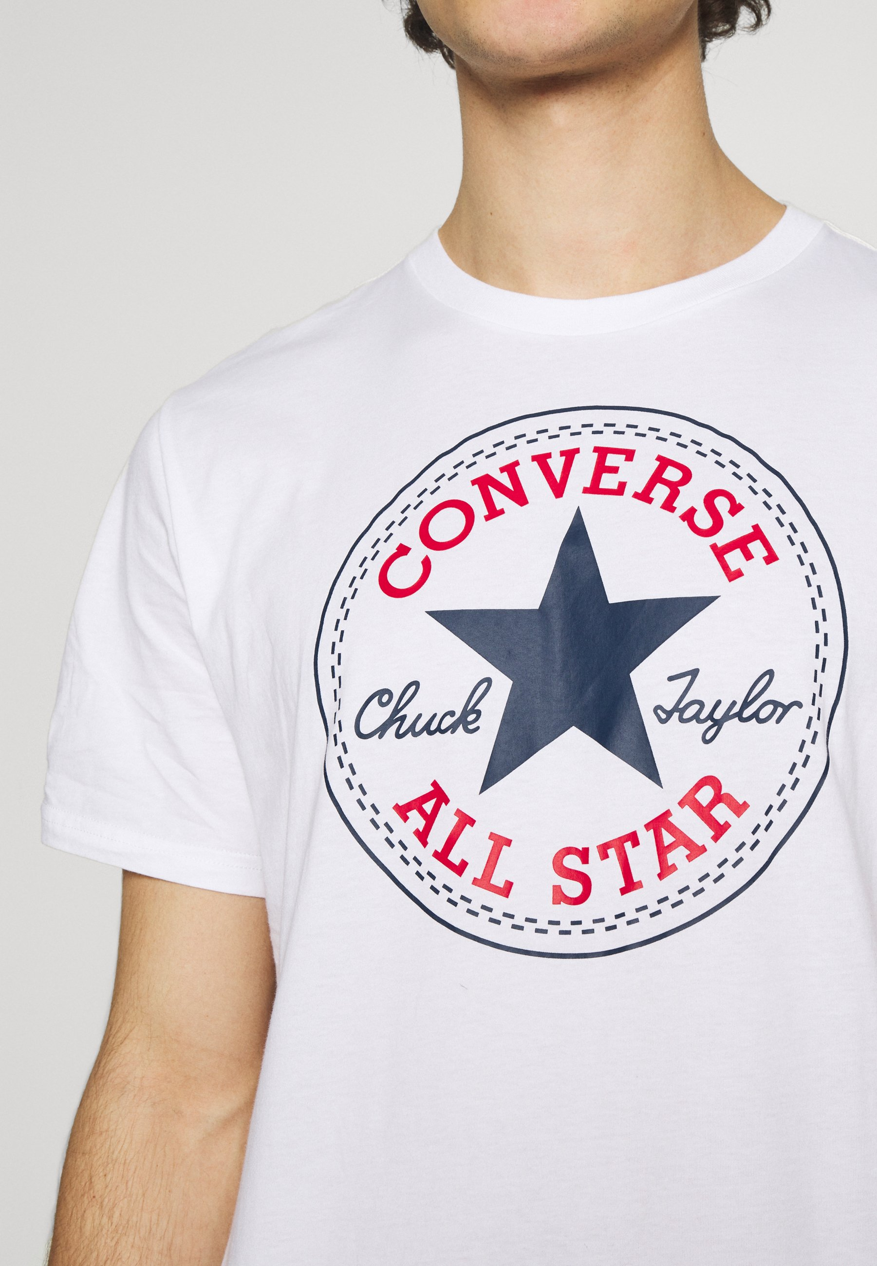 Men CHUCK TAYLOR ALL STAR PATCH GRAPHIC TEE - Print T-shirt