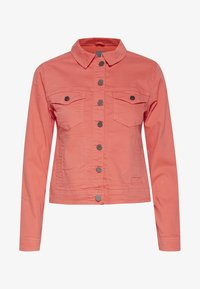 Fransa - FRIVTWILL  - Denim jacket - shell pink - 6