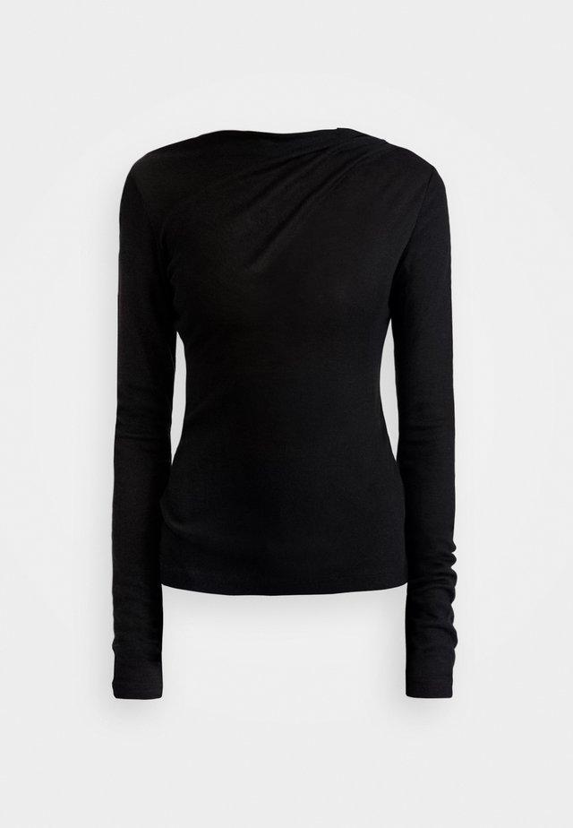 ISA - Långärmad tröja - black