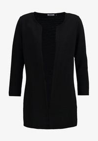 ONLY - ONLLECO LONG  - Cardigan - black - 5