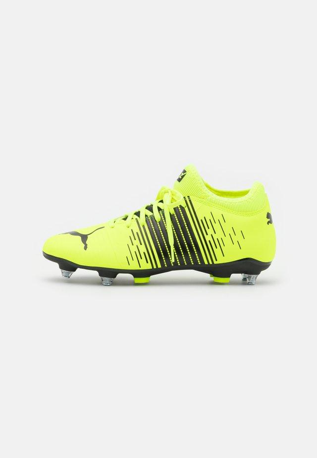 FUTURE Z 4.1 MXSG - Voetbalschoenen met metalen noppen - yellow alert/black/white
