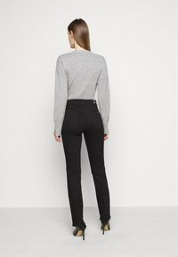 7 for all mankind - THE LUXURIOUS - Jean droit - schwarz - 2