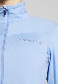 Norrøna - FALKETIND JACKET - Fleece jacket - serenity - 4