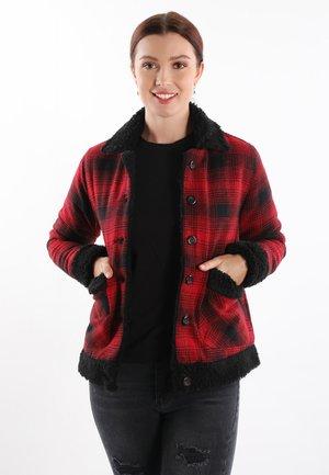 Light jacket - red-black