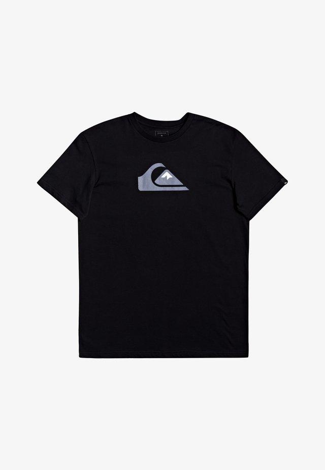 COMP LOGO - Print T-shirt - black