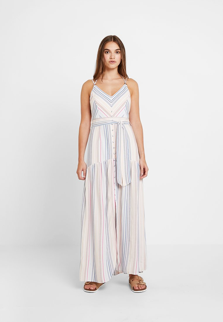 Forever New - STRIPE BUTTON THROUGH DRESS - Maxi dress - multi-coloured