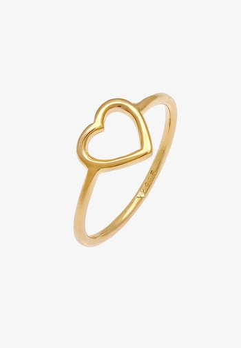 HEART LOVE - Sormus - gold