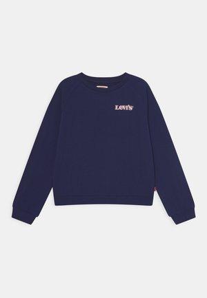 BENCHWARMERCREW - Sweater - peacoat