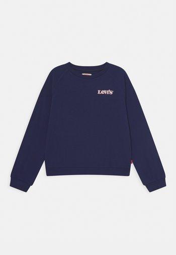 BENCHWARMERCREW - Sweatshirt - peacoat