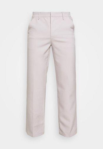 HAVANA CHAIN STRAIGHT TROUSER - Pantaloni - light grey