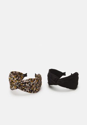 2 PACK - Hårstyling-accessories - multi-coloured/black