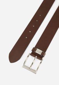 BOSS - CONNIO - Belt business - dark brown - 5