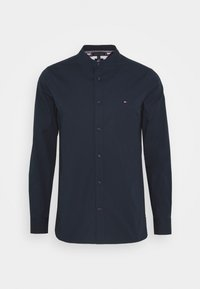 Tommy Hilfiger - SLIM STRETCH SHIRT - Shirt - blue - 5