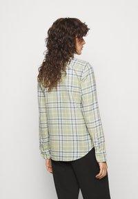 Polo Ralph Lauren - GEORGIA LONG SLEEVE - Button-down blouse - faded green - 2