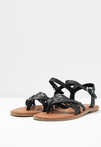TOMS - LEXIE - T-bar sandals - black - 4