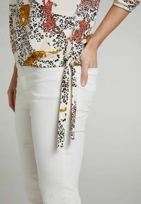 Oui - Blouse - offwhite red - 4