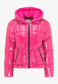 myMo - Winter jacket - fuchsia - 4