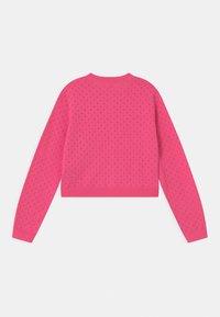 GAP - GIRL EASTER  - Cardigan - neon pink rose - 1