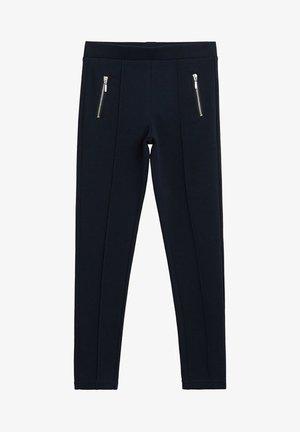 ROMA - Trousers - námořnická modrá
