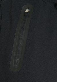 NU-IN - BONDED ZIPPER SLIM FIT  - Tracksuit bottoms - black - 2