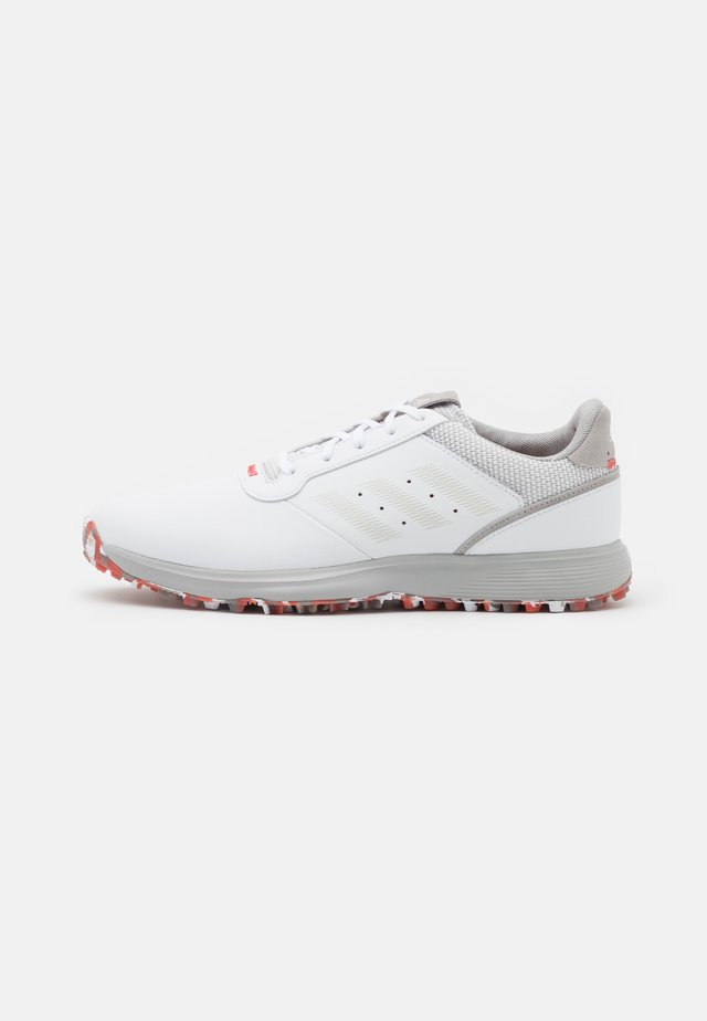 S2G  - Golfové boty - footwear white/grey one/red