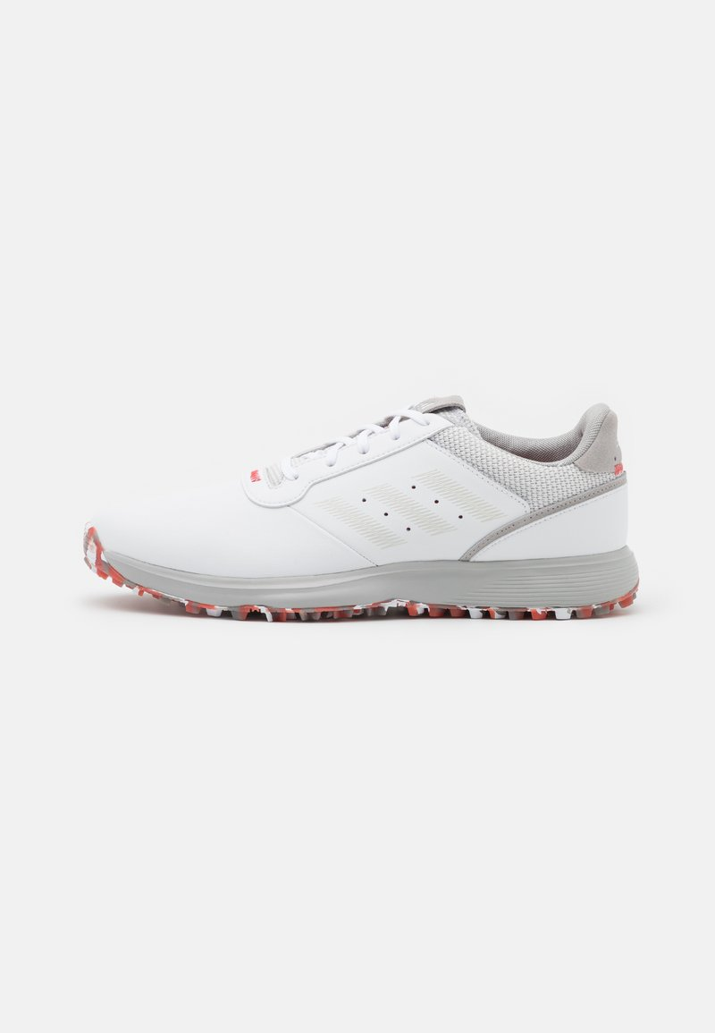 adidas Golf - S2G  - Golf shoes - footwear white/grey one/red