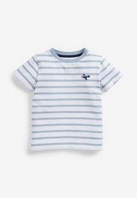 Next - 3 PACK  - T-shirt print - blue - 3