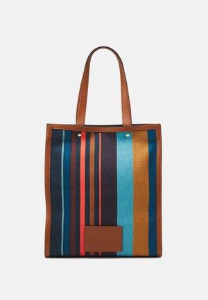 TOTE STRIPE UNISEX - Tote bag - multi-coloured