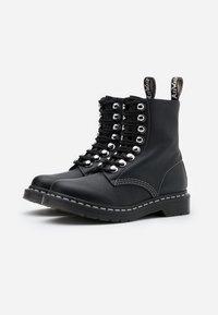 Dr. Martens - 1460 PASCAL - Platform ankle boots - black - 2
