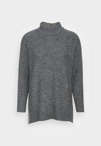 ONLY Petite - ONLKARINNA HIGHNECK - Jumper - medium grey melange - 3
