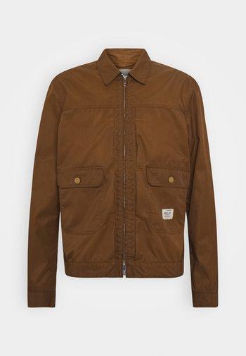 Summer jacket - tobacco