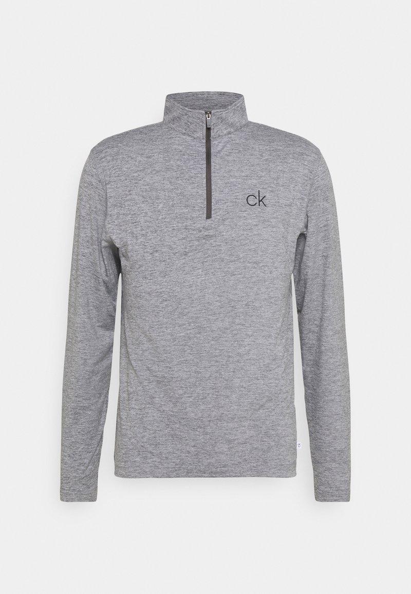 Calvin Klein Golf - NEWPORT HALF ZIP - Sports shirt - silver