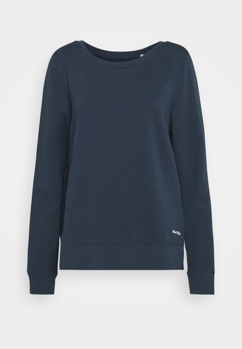 LONG SLEEVE ROUND NECK PRINT AT BACK