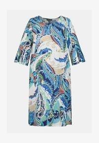 Ulla Popken - Day dress - lapis blue multi - 1