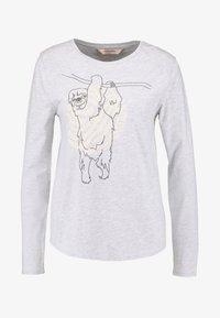 Hunkemöller - SLOTH - Pyjamasoverdel - soft grey melange - 4