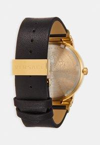 Versace Watches - GRECA LOGO - Zegarek - black - 1