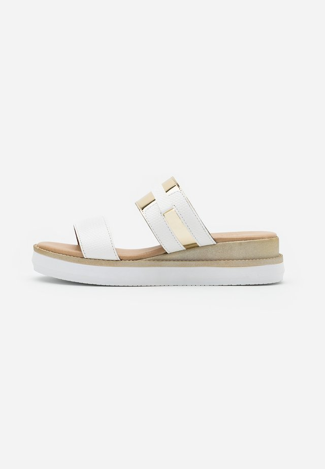 Sandaler - white/platino