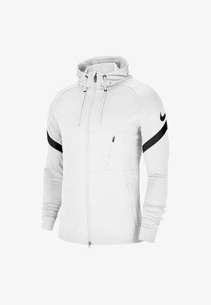 Zip-up hoodie - weissschwarz