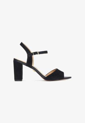 MARCIE - Sandalen met hoge hak - black