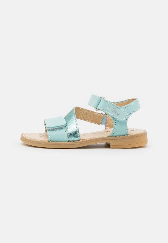 Sandaler - turchese/mare