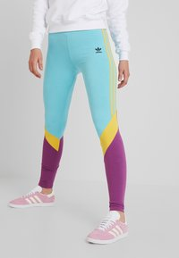 adidas Originals - TIGHTS - Leggings - Trousers - easy mint - 0
