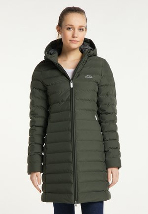 Płaszcz zimowy - dunkeloliv