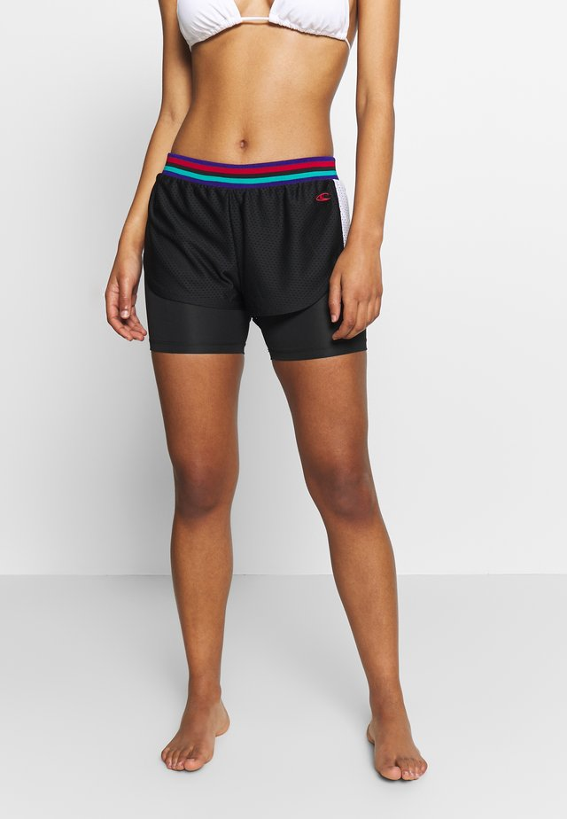 ATHLEISURE - Sports shorts - black out