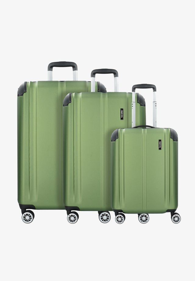 CITY - Luggage set - green