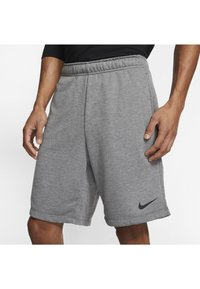 Nike Performance - DRY SHORT - Pantaloncini sportivi - charcoal heather/black - 3