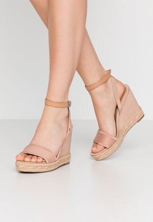 ELENA  - High heeled sandals - sandbank