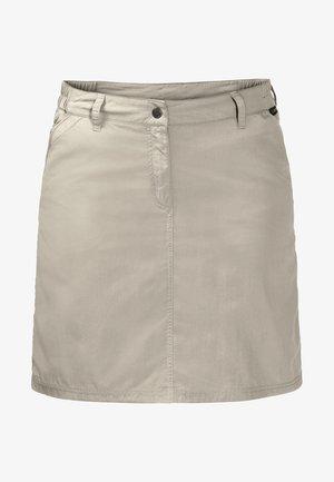 KALAHARI  - Mini skirt - light grey