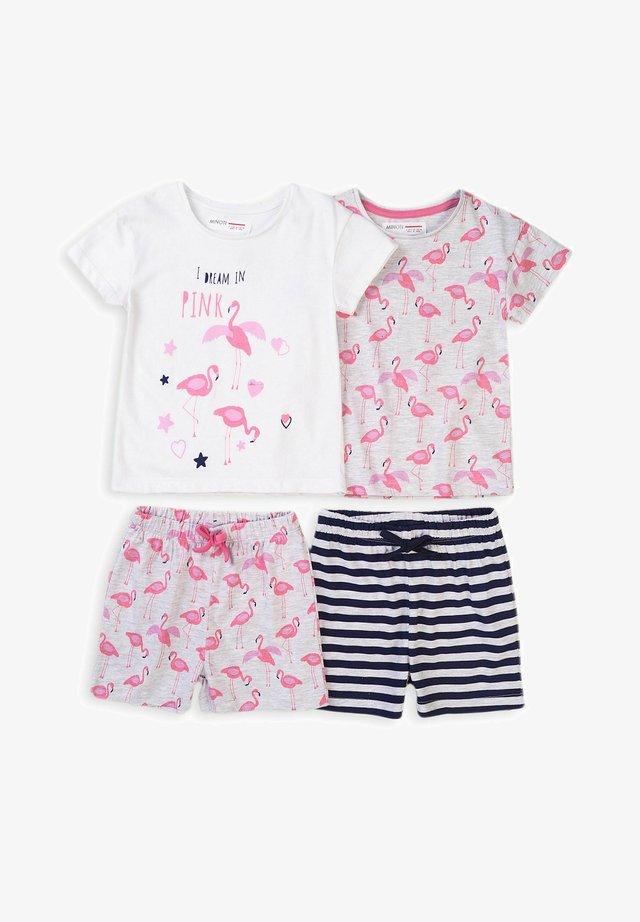 2PACK - Pyjamabroek - white