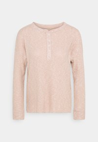 American Eagle - STITCHED HENLEY - Long sleeved top - blush - 0