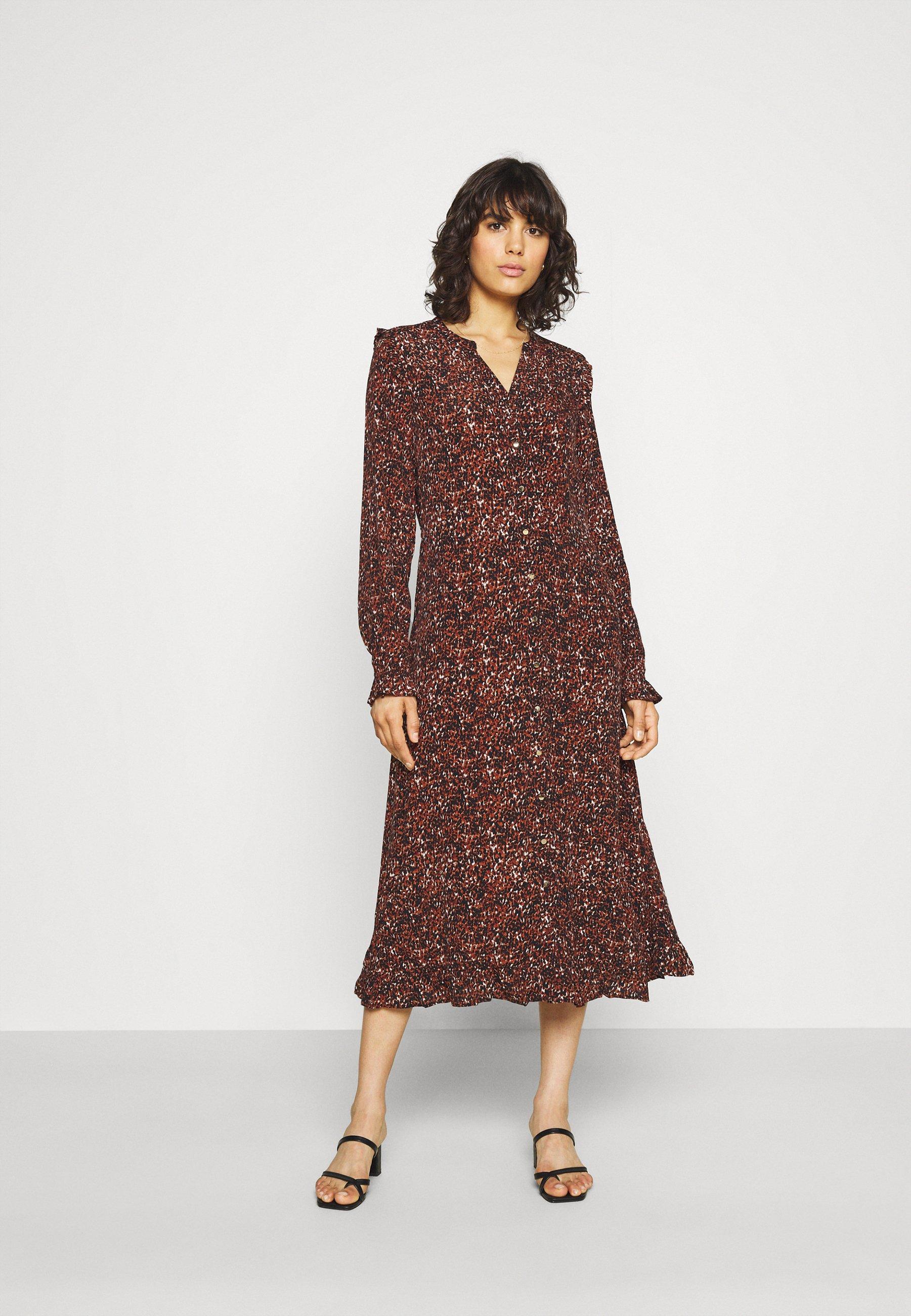 Donna BYFLOURI NATURE DRESS  - Vestito estivo